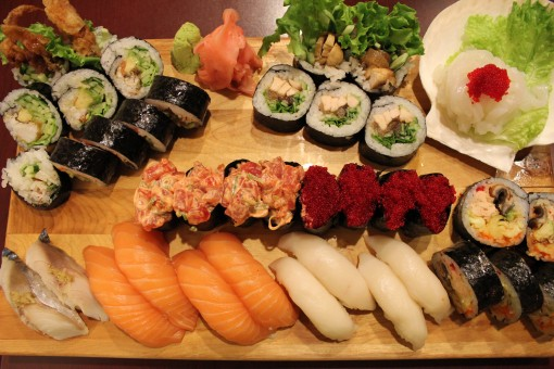 sushis à volonté