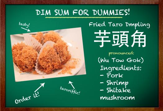 taro dumpling