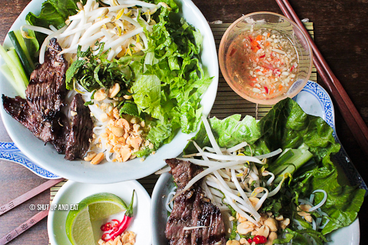 Grilled Lemongrass Beef Noodle Salad – Recipe