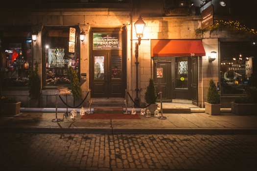 Restaurant Steakhouse Vieux Montreal