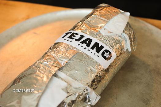 Tejano BBQ burrito