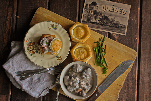 Johnsonville Sausage Vol au Vent Recipe