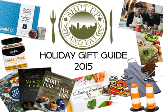 Shut Up and Eat Holiday Gift Guide