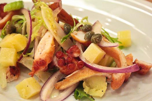 Fiorellino Octopus salad